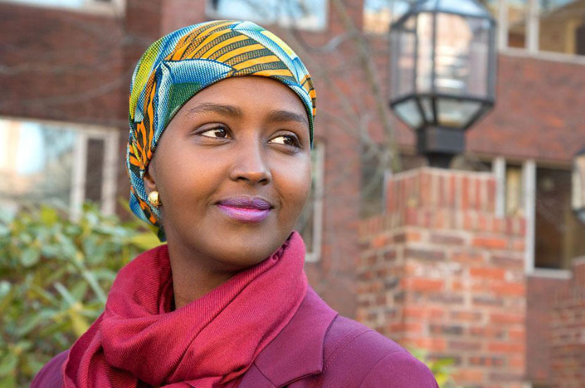 Woman Immigrant From Somalia