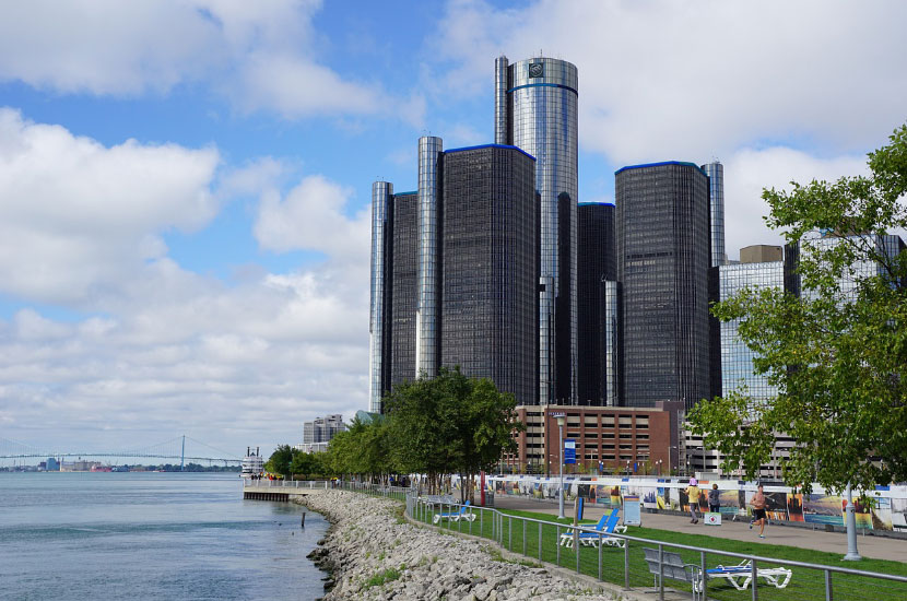 Detroit GM Renaissance Center