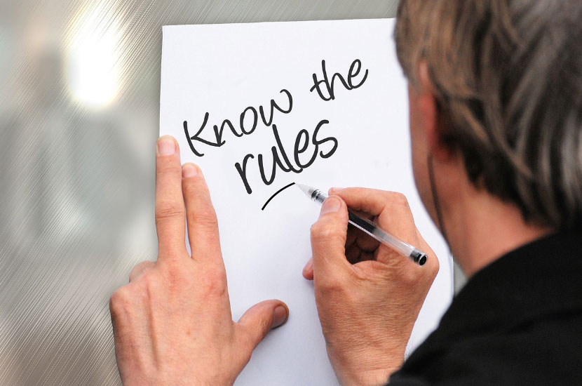 Good Moral Character - Know the Rule Illustration