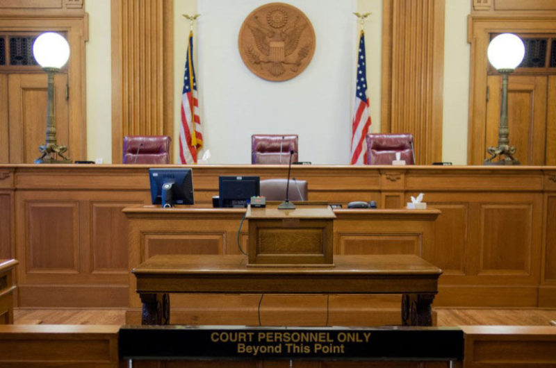 Bond Hearing - Immigration Court Room