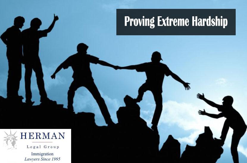 Proving Extreme Hardship