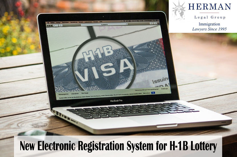 H-1B Lottery - Electronic Registration