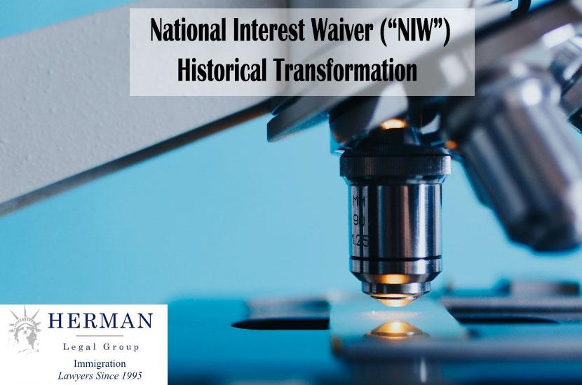 National Interest Waiver Standards