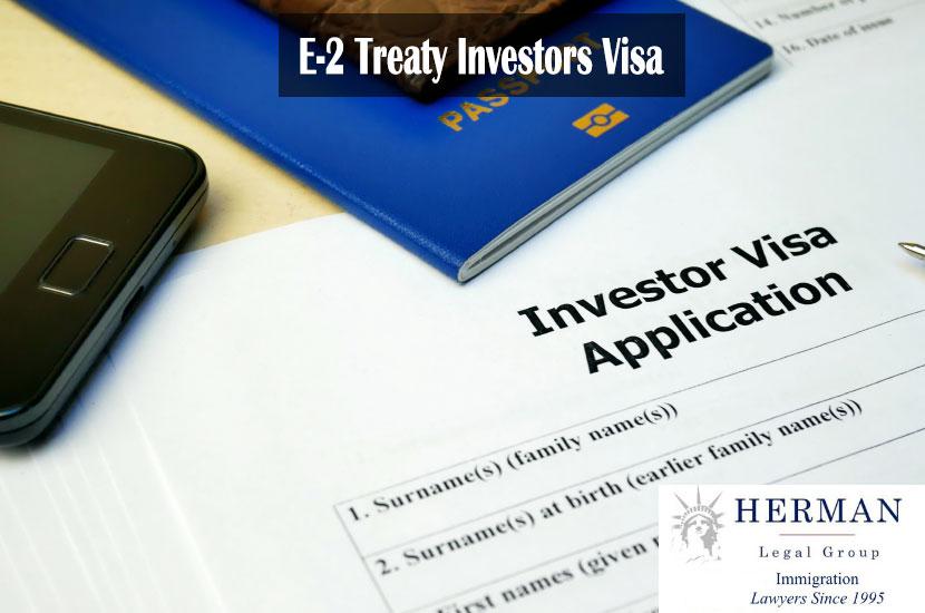 E-2 Visa - Investor Visa Application