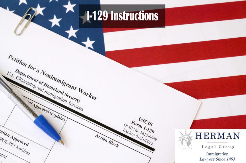 I-129 Instructions