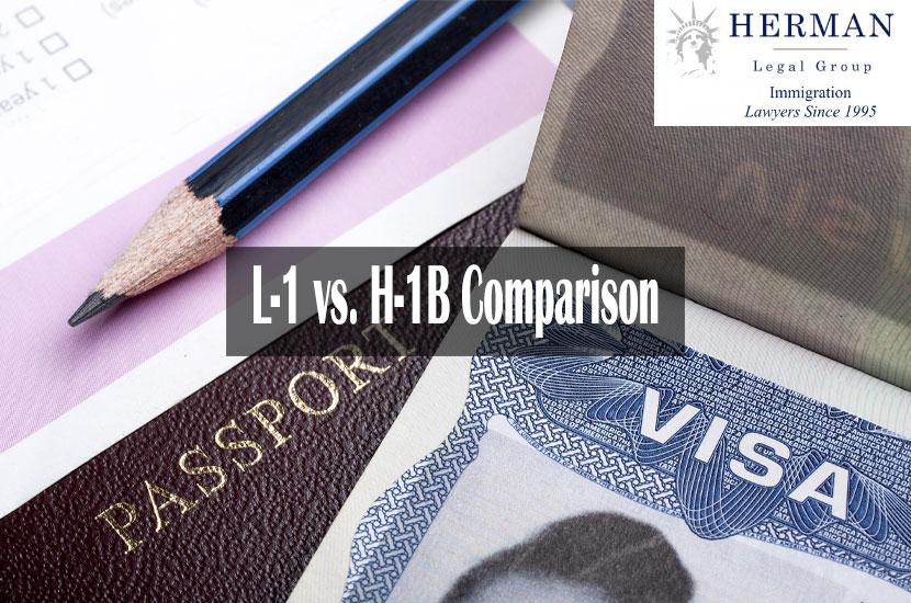 L-1 Visa vs H-1B Visa