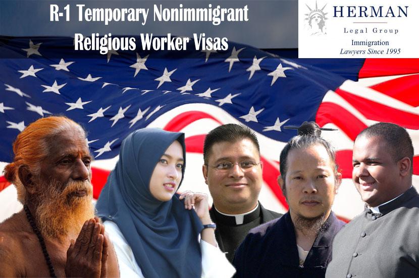 R-1 Temporary Nonimmigrant Religious Worker Visas