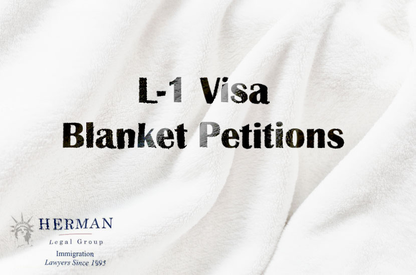 L-1 Visa - Blanket Petitions