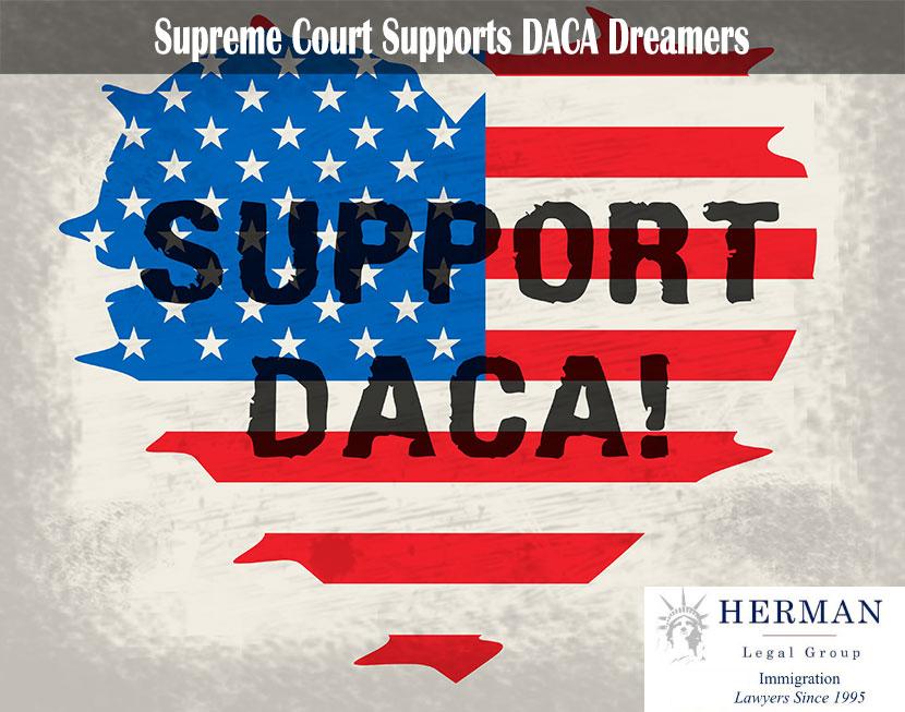 Support DACA - 2d Illustration