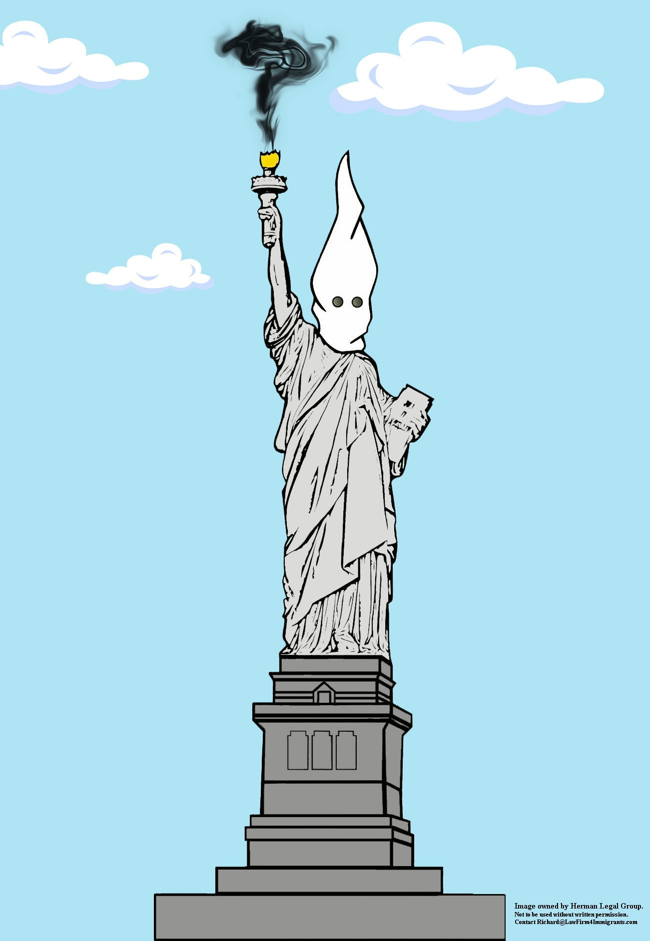 Statue of LIberty Under Trump