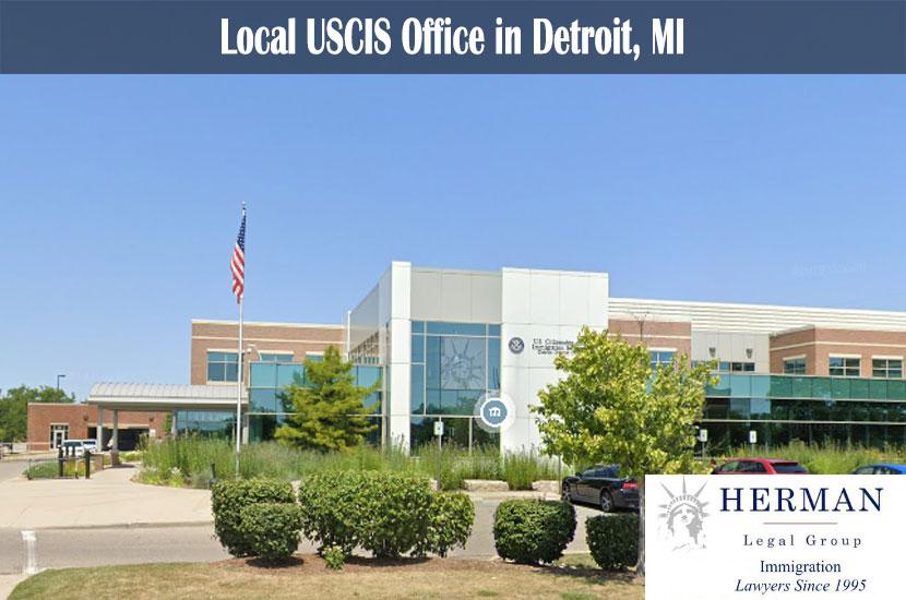 Local USCIS Office in Detroit, MI